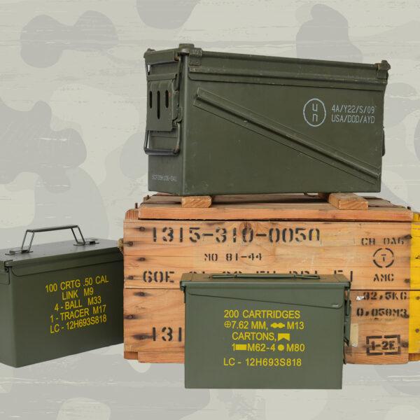 Kisten, Munitionskisten, Spind, Aufbewahrung